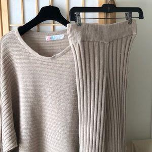 Free People Imogene Sweater Set